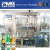 Pequeñas maquinaria de relleno de la cerveza de la botella de cristal e instalación automáticas de la cervecería