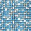 Steinmischungs-Kristallglas-Mosaik-Fliese (HGM307)