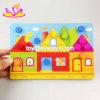 Brinquedos de aprendizagem de madeira das cores do enigma educacional o mais quente novo para o bebê W14c252