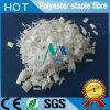 Polyester-Spinnfasern im Weiß