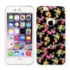 Cubierta móvil de cuero floral del caso TPU para el teléfono elegante