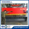 Hydraulische CNC van het Merk van Kingwell Scherpe Machine voor de Plaat van het Metaal