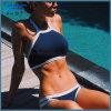 스포츠 고삐 붕대 수영복 비키니 섹시한 사춘기 높은 목 수영복