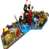 Belo Castelo Naughty equipamentos de playground playground coberto para criança