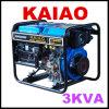 O melhor Abrir-Tipo jogo do preço 3kVA de gerador diesel (KDE3500X)