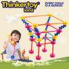 Juguetes creativos de la educación del bloque hueco de los juguetes para los cabritos