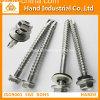 DIN7504k Hex Wafer Head com EPDM Bonded Washer Drilling Screw