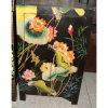 Mobiliário antigo armário pintado de madeira Lwb226