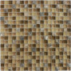 Color Mixed Natural Stone Marble Mosaic per Background Wall