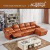Sofa moderne de Recliner de cuir véritable de salle de séjour (620)