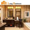 Cabinet de salle de bains debout libre avec le panneau de particules en bambou (LB-AL2053)
