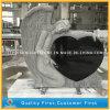أسود صوان ملاك قلب أسود صوان حجارة شاهد لأنّ شاهد القبر/نصب/شاهد