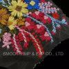 方法美しい3D花によって刺繍されるレースの網の女性ファブリック織物