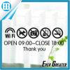 영업 시간 표시 상점 창문 비닐 전사술 스티커