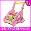 Neues Baby-Wanderer-Spielzeug der Art-2016, hölzernes Wanderer-Multifunktionsspielzeug, Großhandelsbaby-Wanderer-Spielzeug W16e023A
