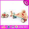 Nouveau design 37PCS DIY en bois Puzzle 4D Toy, haute qualité Intelligent en bois DIY voiture avion Toy W03b044