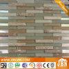 世帯Wall Strip Marfilおよびライト茶色のGlass Mosaic (M857005)