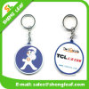 PVC Rubber Key Chains do costume 3D Two Sides (SLF-KC029)