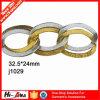 大会のOeko-Texの標準100の条件の最上質の金属のハンドバッグの鎖