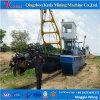 800-3000m3/H 유압 절단기 흡입 준설선의 물 수용량