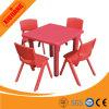 Tabelas e cadeiras plásticas baratas da mobília de escola da segurança