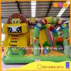 Cidade inflável do divertimento do circo do leão (AQ13125)