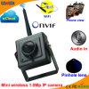 Wireless Pinhole Miniature Câmera web de rede IP de 1.0 megapixels