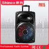 Shinco 15'' altavoz portátil Bluetooth Carrito Karaoke