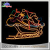 2D LED-Motiv-glückliche frohe Weihnacht-Weihnachtsmann-Weihnachtsseil-Motiv-Lichter