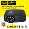 1500 lumen van LED 1080P Mini Multimedia Projector voor Home