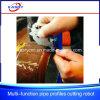 De automatische CNC Scherpe Machine van de Pijp van de Sectie van het Plasma Vierkante en Ronde Holle
