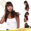 Полный парик человеческих волос Remy бразильский