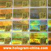Laser Hologram Stickers di obbligazione 3D con Qr Code Printing