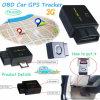 Inseguitore globale di GPS dell'automobile di Obdii della banda di frequenza 2g/GSM
