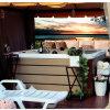 5-6 places romantique jacuzzi spa Wanien Wanny SPA,