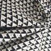 유행 흑백 다이아몬드 자카드 직물 직물