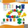 Les jouets en plastique de l'éducation de haute qualité des blocs de construction de bébé