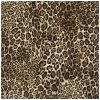 De Douane van het Patroon van de luipaard drukte de Chinese Vierkante Sjaal van de Zijde af