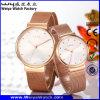 Fabrik-verbindet klassische Quarz-Form Armbanduhren (Wy-057GB)