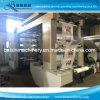 6 цвет бумаги ременного привода высокой скорости Flexographic печатной машины