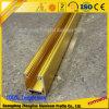 끈으로 묶인 커튼을 거는 막대를 위한 중국 공급자 양극 처리 알루미늄 궤도