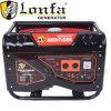 générateur silencieux d'essence d'essence de 13HP 5kVA avec le traitement et les roues