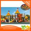 Corrediça ao ar livre do parque de diversões da série do castelo para miúdos