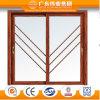 Portello europeo dell'alluminio/alluminio/Aluminio della stoffa per tendine del portello della decorazione interna del mercato