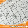 Carrare 12 po. Tuile de mosaïque en verre Maille-Montée (V6KP701-SQ)