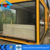 Comortableの大きいサイズの屋内装飾が付いている鋼鉄プレハブの家の容器