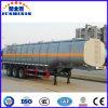 L'asphalte/bitume transporteur/réservoir pétrolier de l'acier semi-remorque de camion avec système de chauffage
