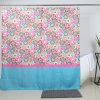 Fábrica de tejido de poliéster de China al por mayor cortina de ducha con ojetes