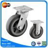 Echador de la rueda fijo y  de la PU eslabón giratorio 6 resistentes