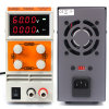PS605dm источник питания для верстака, 4 Цифры светодиодный дисплей с регулируемыми цифровыми коммутации регулируемого напряжения питания